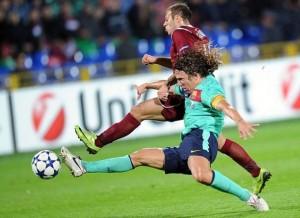 Рубин - Барселона 1:1