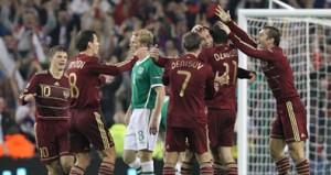 Наши футболисты выиграли у ирландцев