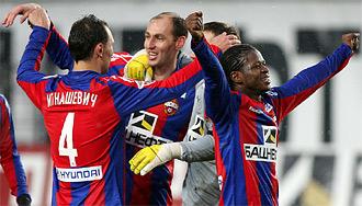 ЦСКА серебро 2010