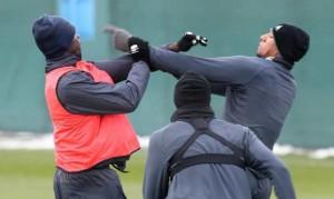 Балотелли и Боатенг подрались на тренировке «Манчестер Сити»