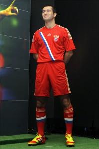 Форма сборной России по футболу 2012