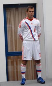 Второй комплект сборной россии по футболу 2012