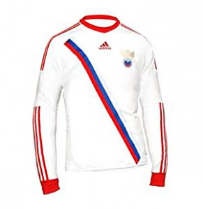 Вторая форма сборной России по футболу 2012