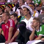 Болельщики немецкой сборной