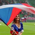 Она болеет за Чехию