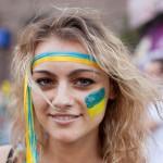 Украинка на Евро-2012