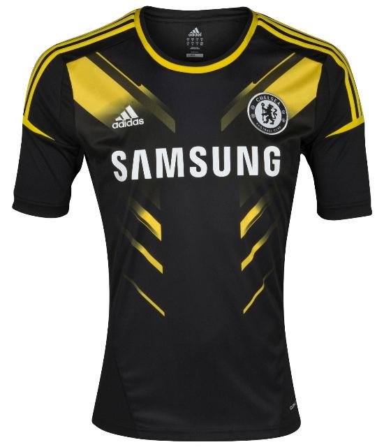 Третий комплект формы Челси сезона 2012/2013