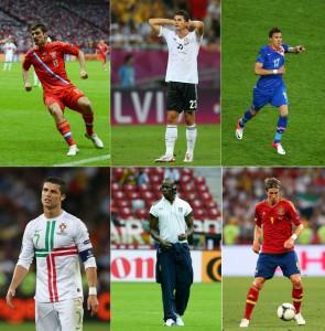 Лучшие бомбардиры Евро 2012