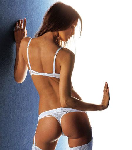 Красивая женская попка