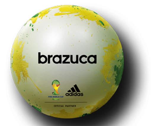 Официальный мяч ЧМ-2014 Brazuca