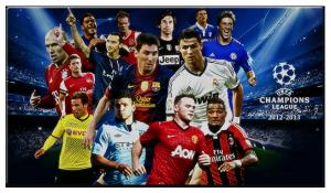 Жеребьевка 1/8 Лиги Чемпионов 2012-2013