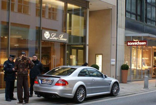 Jerome Boateng - Mercedes-Benz CLK 63 AMG Black Series