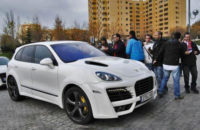 Antonio Lopez - Porsche Cayenne TechArt Magnum