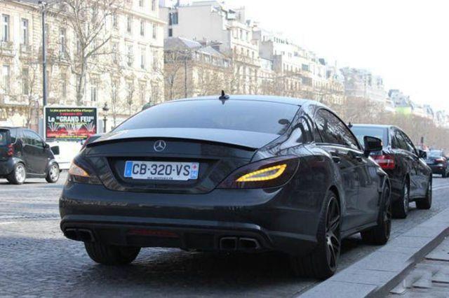 Jeremy Menez - Mercedes-Benz CLS 63 AMG C218