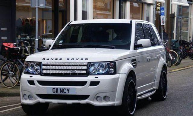 Nani - Land Rover Hamann Range Rover Sport