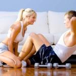 Полезны ли занятия спортом дома?