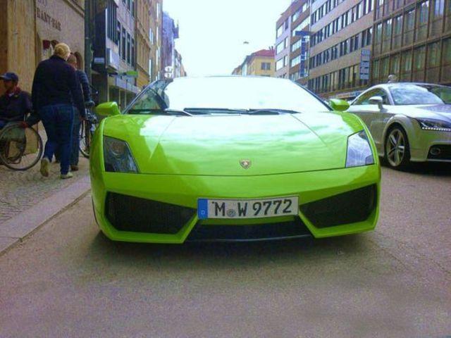 Franck Ribery - Lamborghini Gallardo LP560-4 Spyder