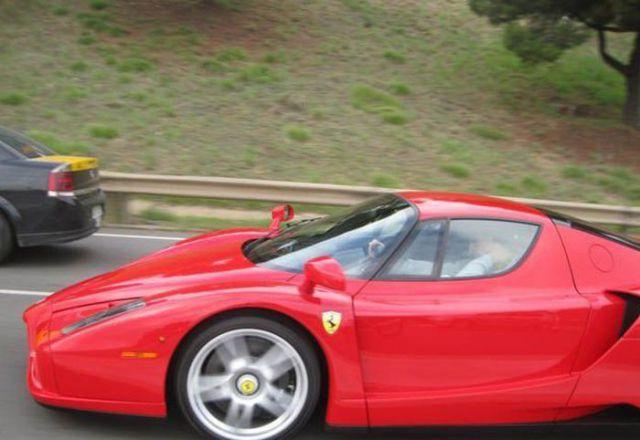 Zlatan Ibrahimovic - Ferrari Enzo Ferrari