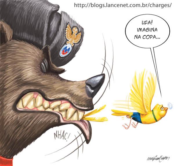 После матча Россия - Бразилия