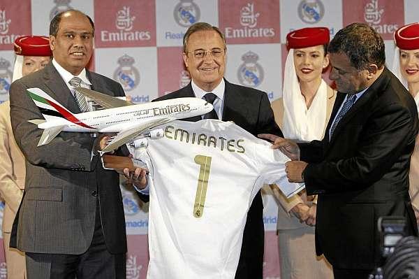 Новый спонсор мадридского «Реала»