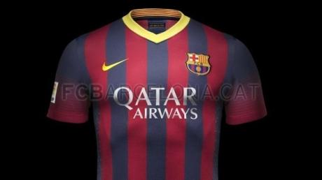 Новая форма Барселоны сезона 2013/2014
