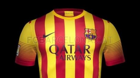 Новая форма Барселоны сезона 2013/2014 - гостевая