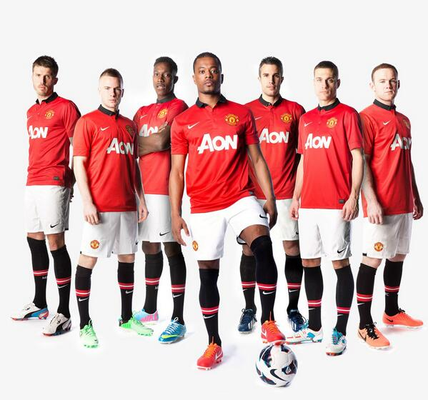Новая форма Манчестер Юнайтед 2013-2014