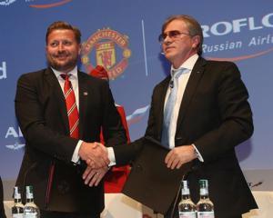 «Аэрофлот» стал перевозчиком «Манчестер Юнайтед»