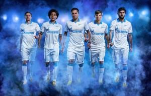 Новая форма Зенита сезона 2013/2014