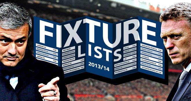Расписание 1 тура Чемпионата Англии 2013/2014