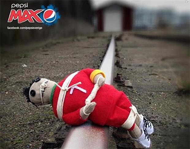 Компания PEPSI принесла извинения за куклу Роналду