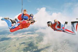 Про прыжки с парашютом