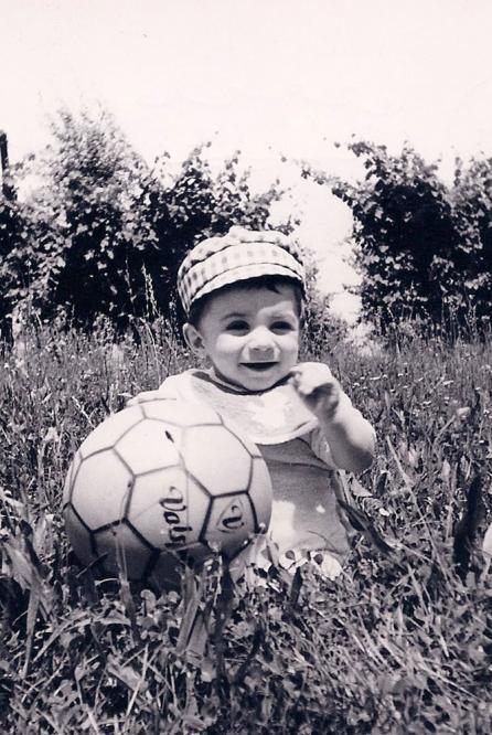 Фото футболистов в детстве