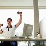 Фитнес за рабочим столом