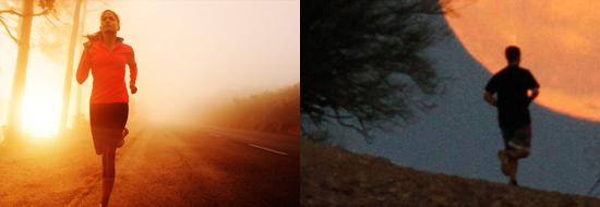 Когда лучше бегать утром или вечером?