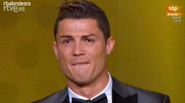 Криштиану Роналдо стал обладателем Золотого Мяча