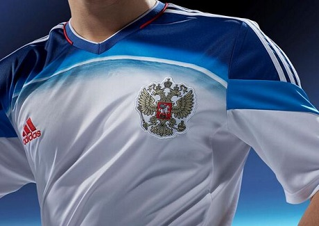 Гостевая форма сборной России на ЧМ-2014