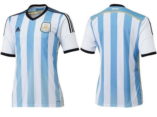 Форма сборной Аргентины 2014