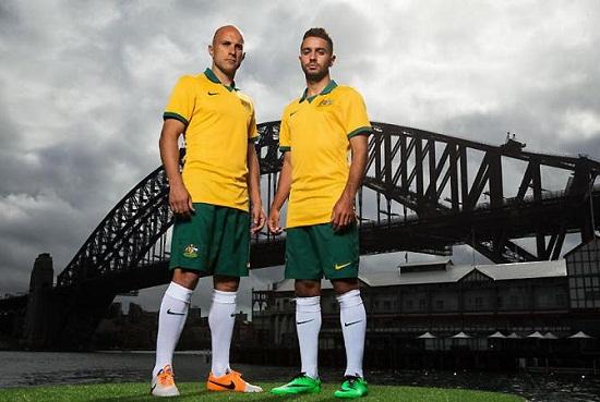 Форма сборной Австралии 2014
