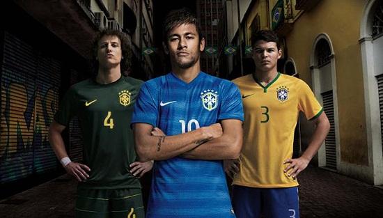Форма сборной Бразилии 2014
