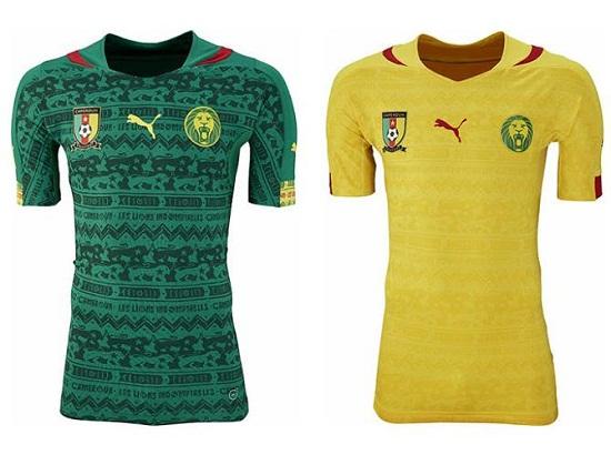 Форма сборной Камеруна 2014