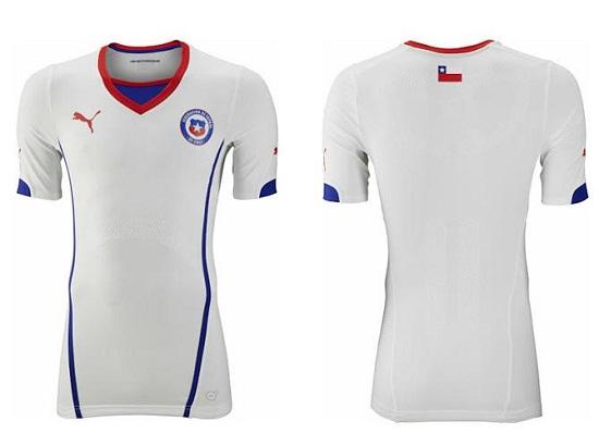 Форма сборной Чили 2014
