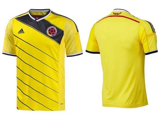 Форма сборной Колумбии 2014