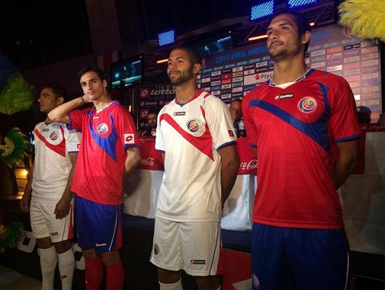 Форма сборной Коста-Рика 2014