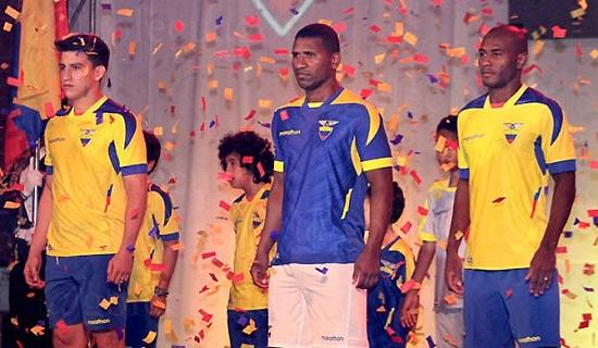 Форма сборной Эквадора 2014