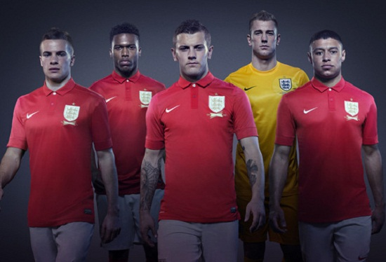Форма сборной Англии 2014