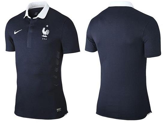 Форма сборной Франции 2014