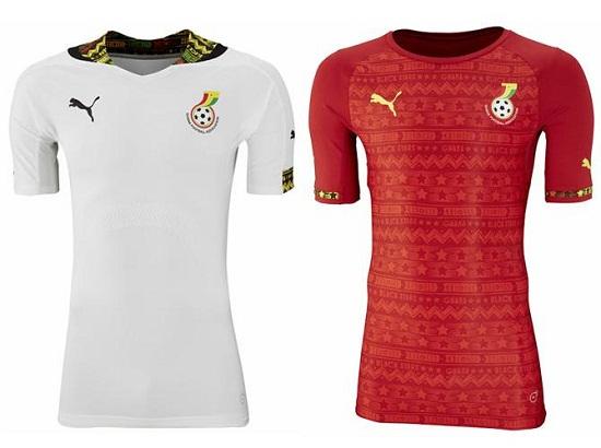 Форма сборной Ганы 2014