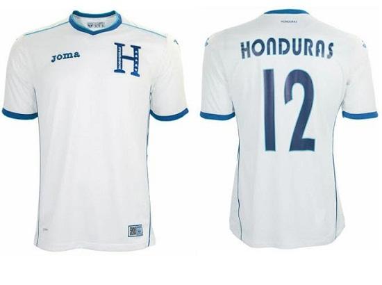 Форма сборной Гондураса 2014