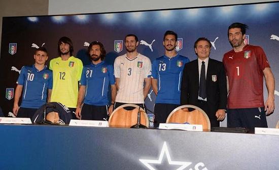 Форма сборной Италии 2014